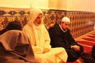 Près de la tombe de Moulay Abdallah Amghar (2)