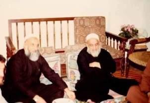Sidna Shaykh Ahmed Kuftaro et Sidna Shaykh Rajab RA
